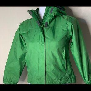 Green Columbia Rain Jacket (Youth7/8)